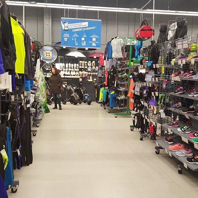 Visite du nouveau concept de magasin #decathlon à englos